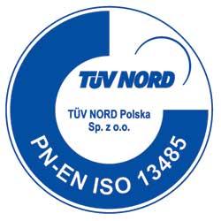 Certyfikat PN-EN ISO 13485