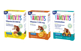 NOVELTY! Delicious lozenges YAMIVITS